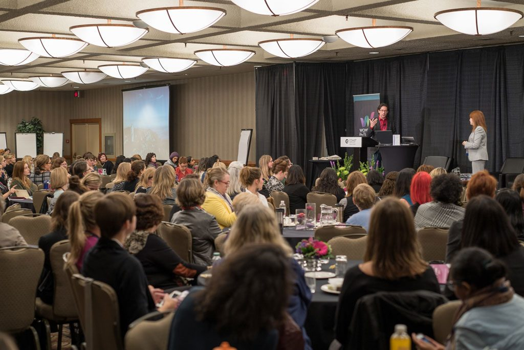 2013 – The first Edmonton Women's Symposium